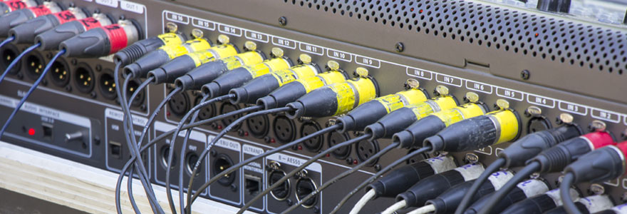 Achat de câblages et de connectique pour le domaine audiovisuel