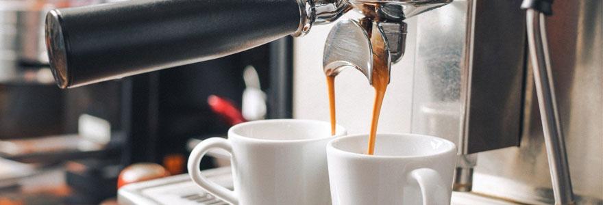 Modèle de machine à café